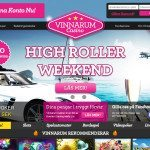High Roller weekend hos Vinnarum – 1500kr + 100 freespins