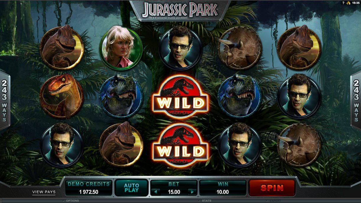 Thrills Casino - Spela Jurassic Park - FГҐ Free Spins