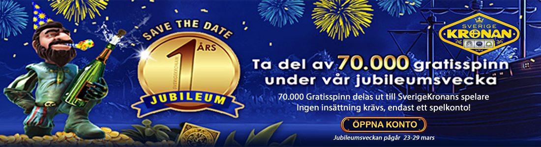 SverigeKronan 1 år