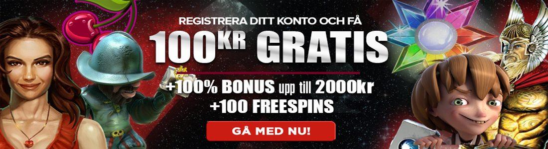 100kr gratis