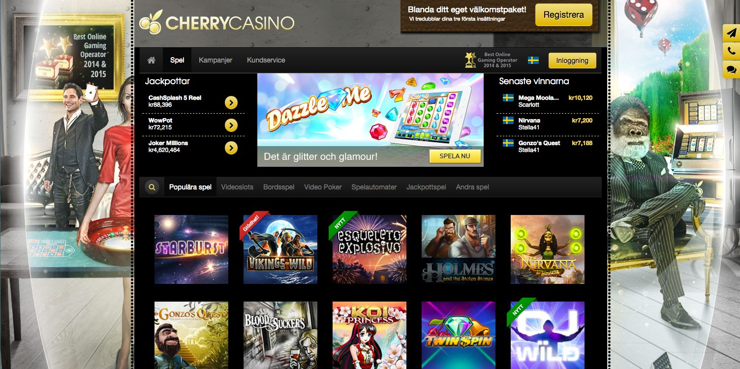 cherry casino gratis