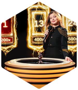 kasino langsung dengan roulette Lightning