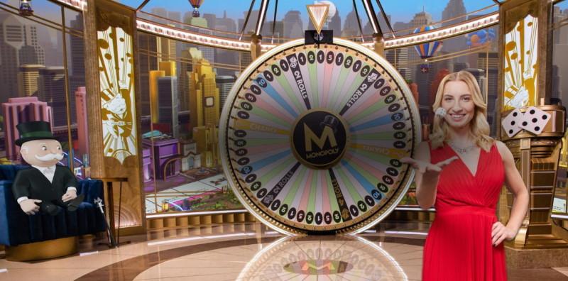 Monopoly live casino spel