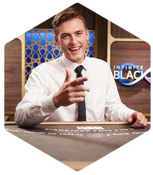 Infinite Blackjack är ett kul spel i live casino