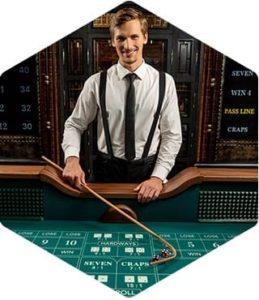 Evolution craps i live casino