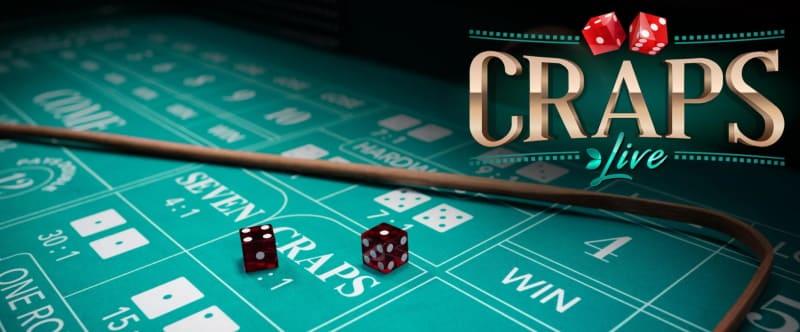 Spela craps i live casino