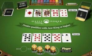 Spela Oasis Poker