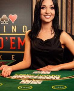 Spela Live poker på nätet
