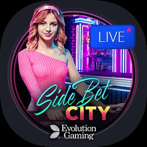 Side Bet City Evolution live